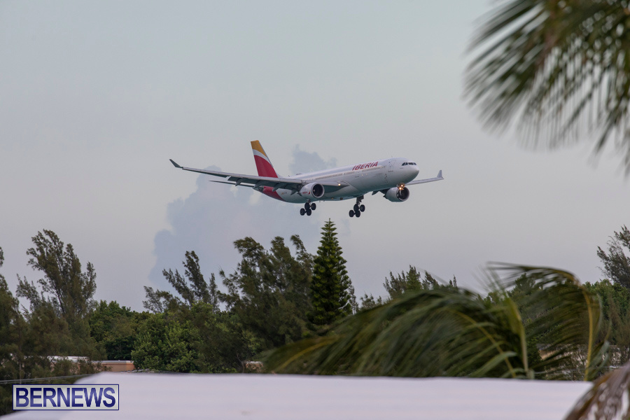 Iberia 6621 Airplane Medical Diversion Bermuda, July 25 2019-1647