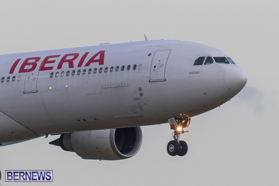 Iberia 6621 Airplane Medical Diversion Bermuda, July 25 2019-1652