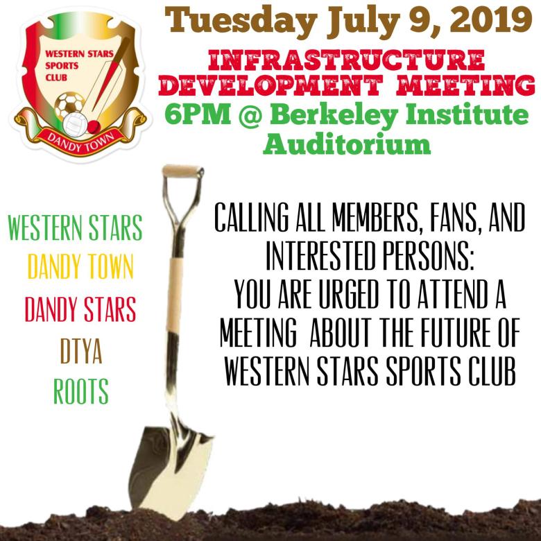 Infrastructure Development Meeting Bermuda July 5 2019