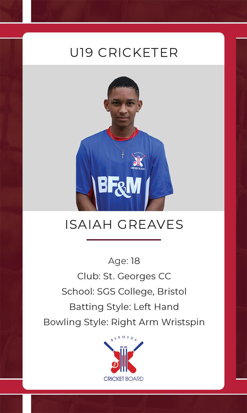 Isaiah Greaves