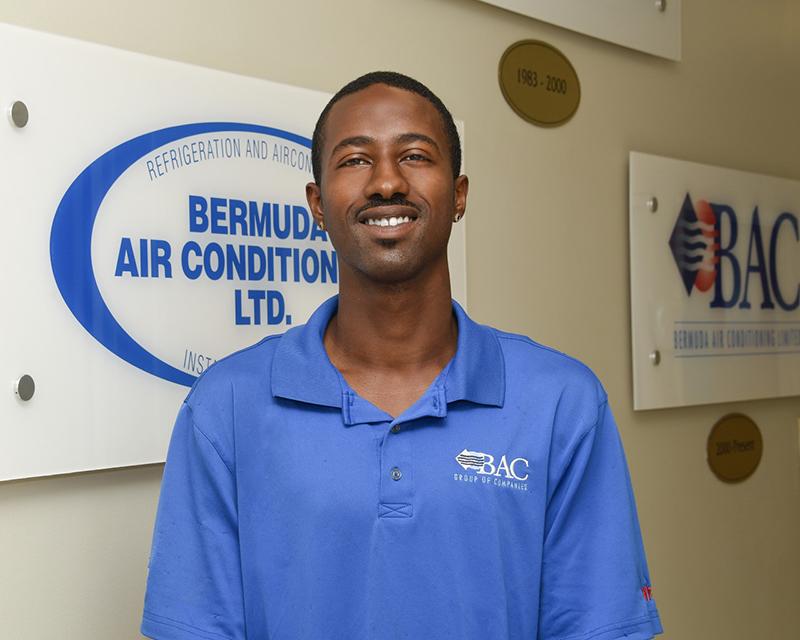 Jamel Easton BAC Bermuda July 2019
