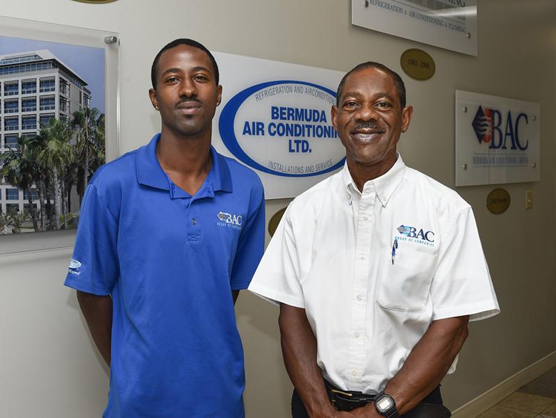 Jamel Easton & Vance Hollis Bermuda July 2019