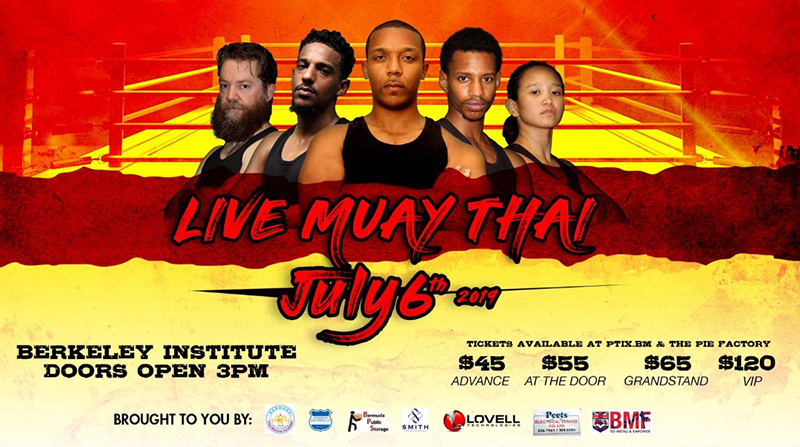 Live Muay Thai Bermuda July 2019