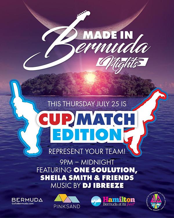 Made In Bermuda Nights Cup Match Edition - Bernews