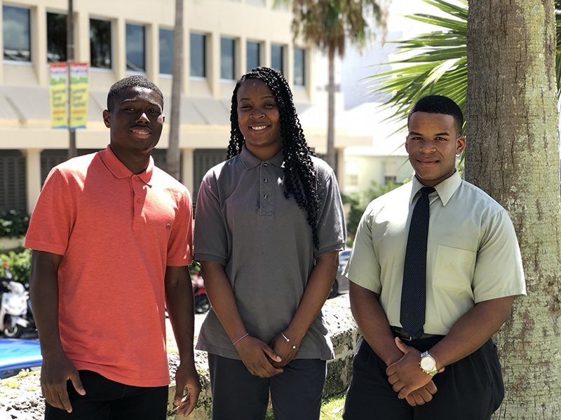 MarketPlace education award recipients Bermuda July 25 2019