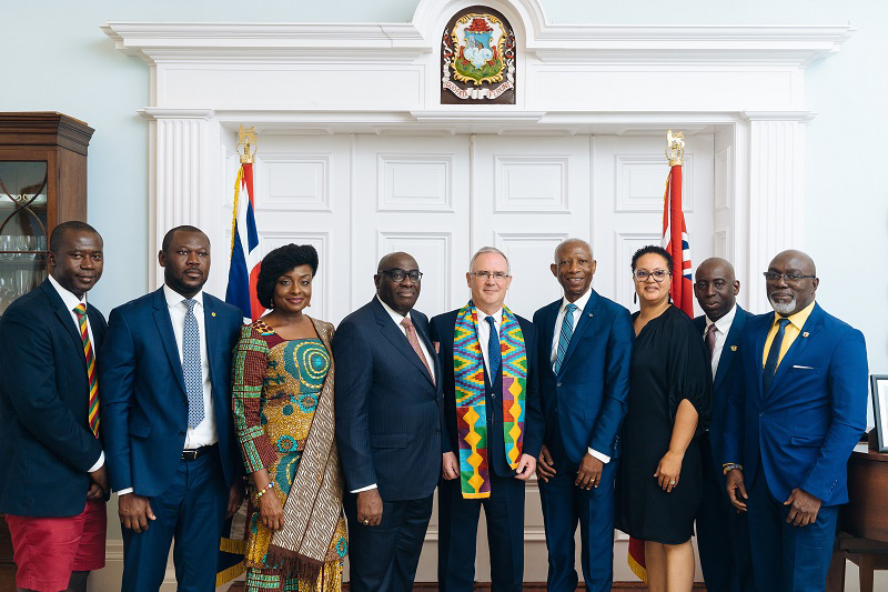 Meeting Between Governor Of Bermuda & Ghanaian Ambassador To UK & Ireland July 2019 (1)
