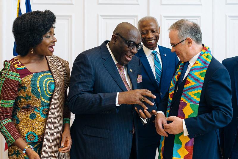 Meeting Between Governor Of Bermuda & Ghanaian Ambassador To UK & Ireland July 2019 (2)