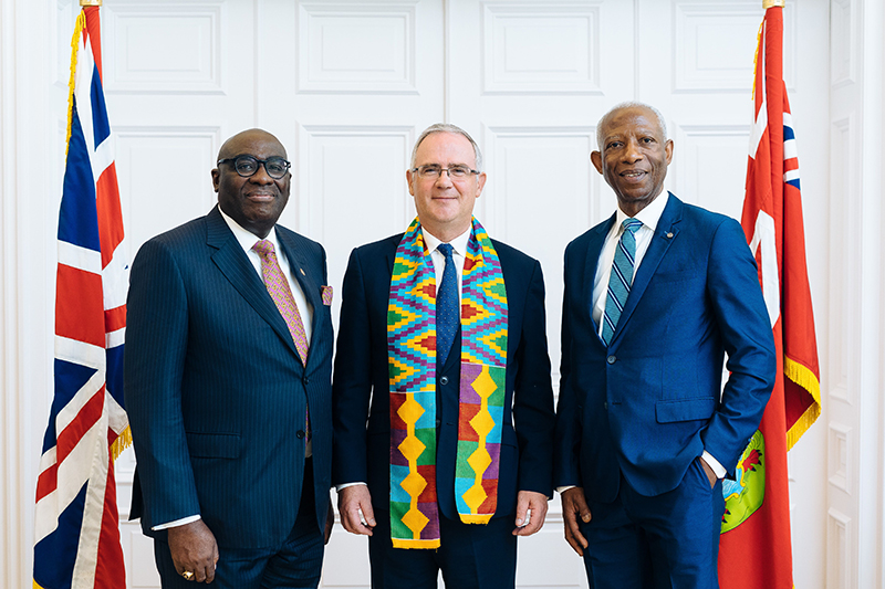 Meeting Between Governor Of Bermuda & Ghanaian Ambassador To UK & Ireland July 2019 (3)