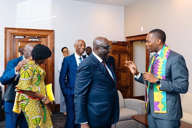 Meeting Between Governor Of Bermuda & Ghanaian Ambassador To UK & Ireland July 2019 (7)