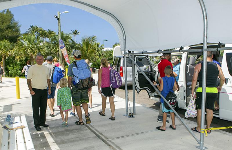 Minister DeSilva Visits Horseshoe Bay Beach Bermuda July 2019 (2)
