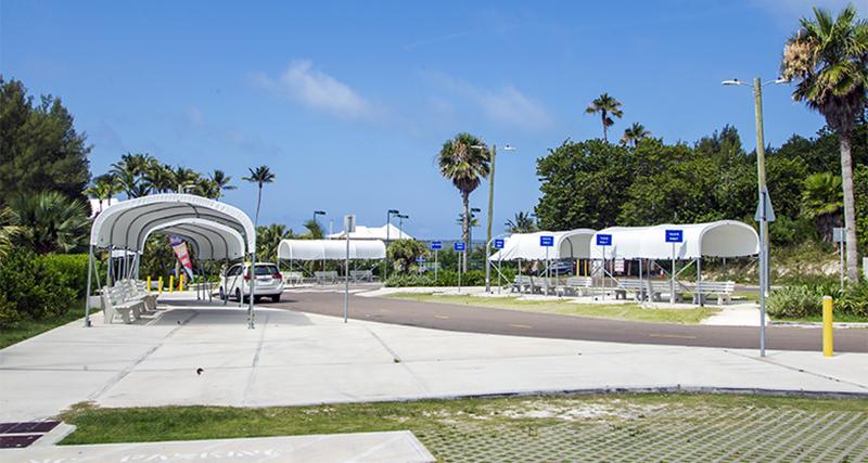 Minister DeSilva Visits Horseshoe Bay Beach Bermuda July 2019 (4)
