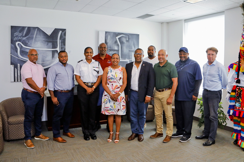 Minister Lovitta Foggo & St George's Cup Match Meeting Bermuda July 2019 (4)