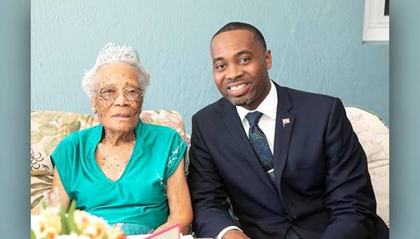 Myrtle Edness Celebrates Her 105th Birthday July 2019 (1)