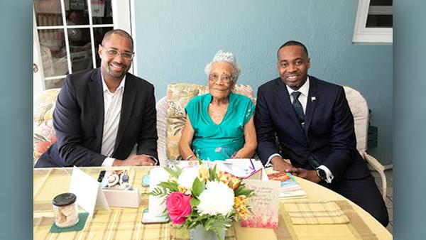 Myrtle Edness Celebrates Her 105th Birthday July 2019 (2)