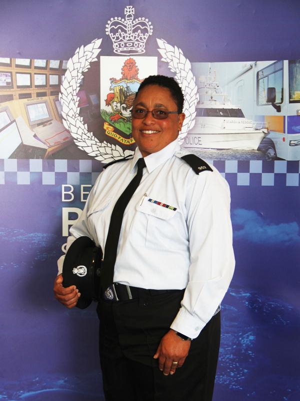 Parish Constable for Smith's Parish Terry Paynter Bermuda July 2019