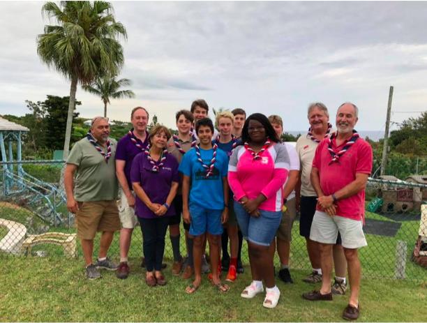 Scouts World Jamboree Bermuda July 2019