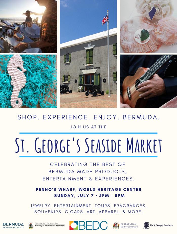 St George's Seaside Market Bermuda July 2019
