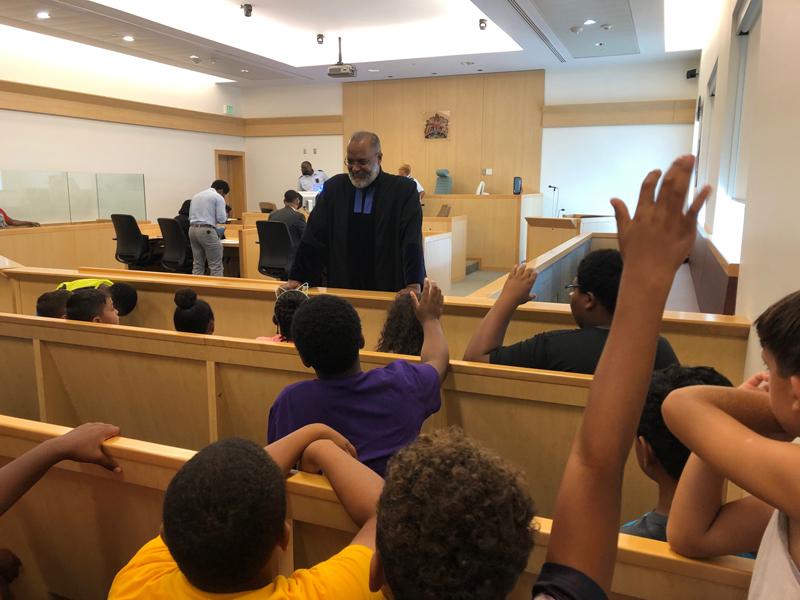 Summer campers court Bermuda June 2019 (3)