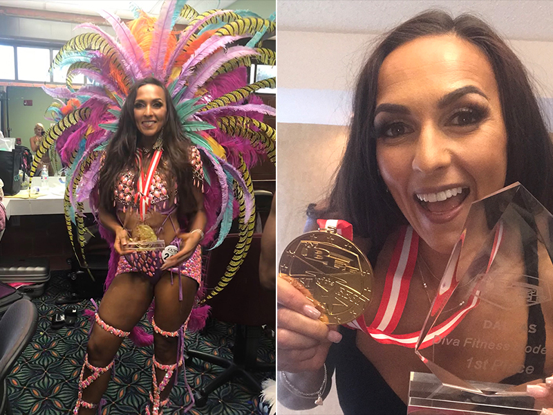 Tiffany Dawson Earns WBFF Pro Card - Bernews