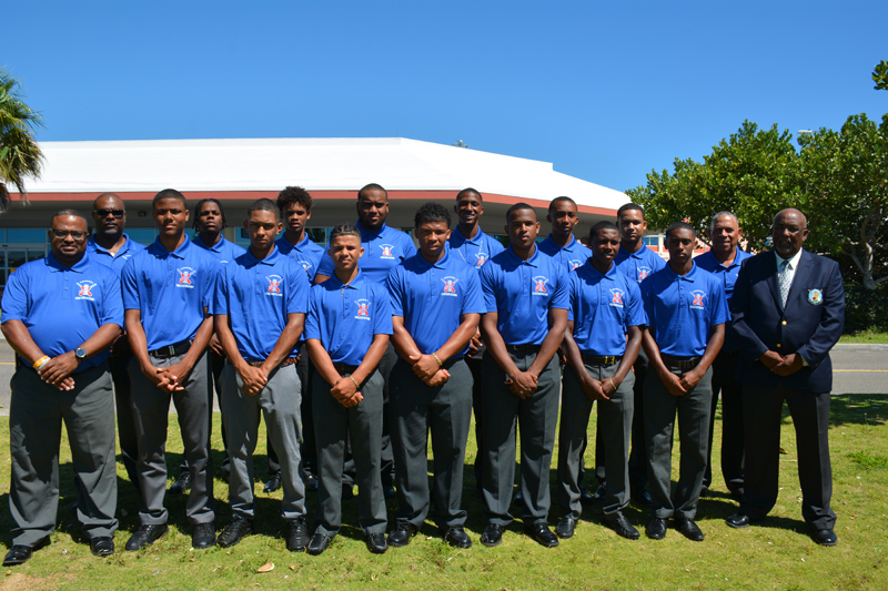 U19 National Cricket team Bermuda July 2019