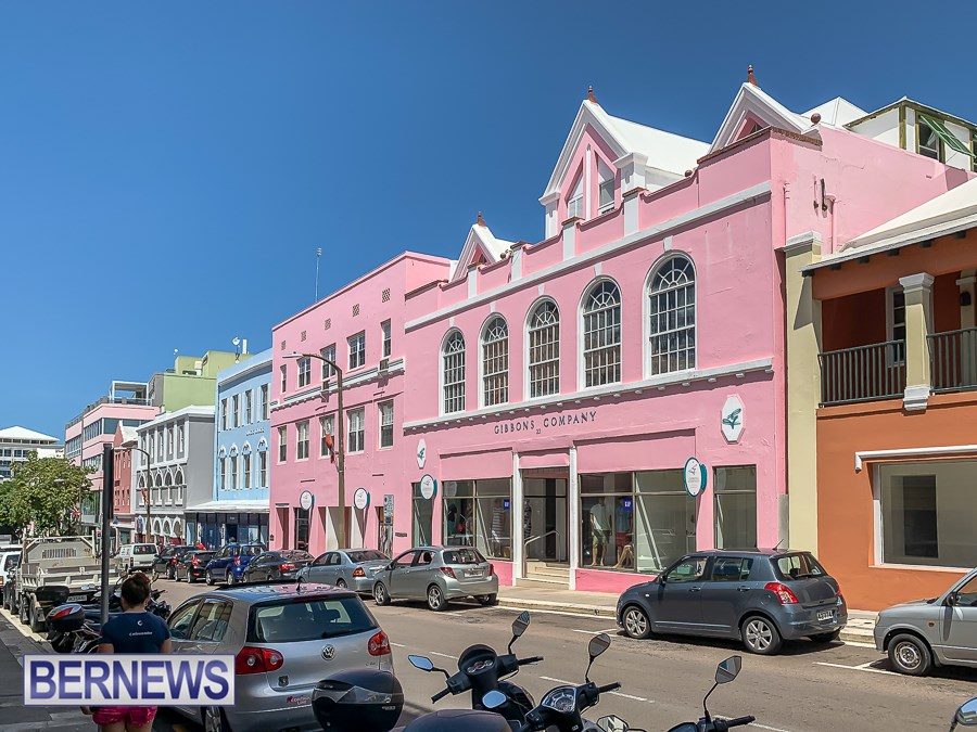 553 - The beautiful pastel colours of Hamilton on a sunny summer's day.