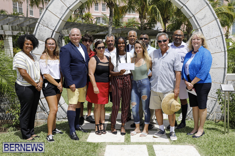 BHA Scholarship Award Presentation Bermuda Aug 7 2019 (2)