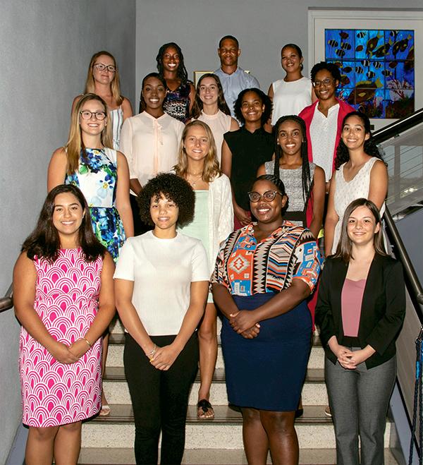 Bank Of Bermuda Annual Scholarship Awards Bermuda Aug 2019