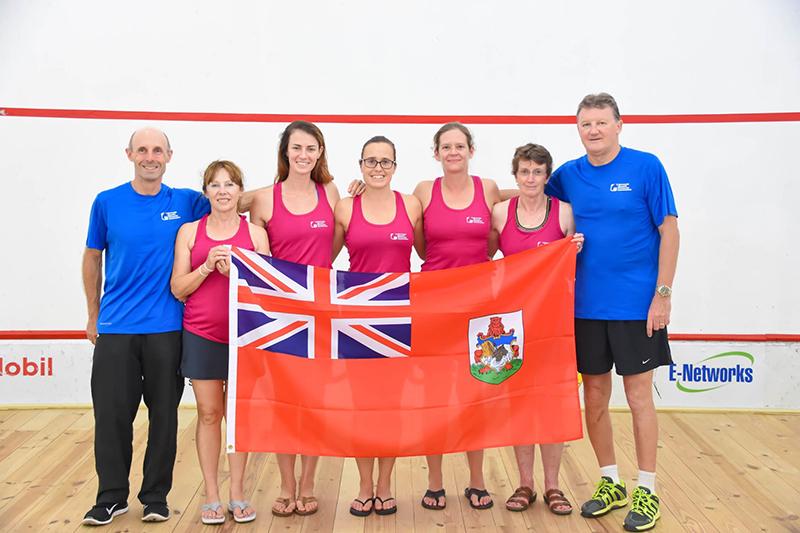 Bermuda National Squash Team Aug 2019 (1)