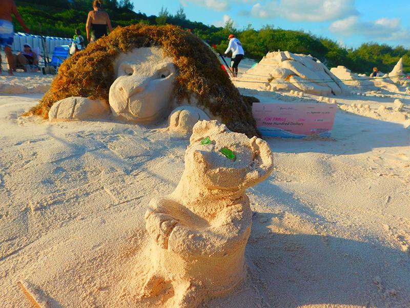 Bermuda Sandcastle Competition Aug 2019 (2)