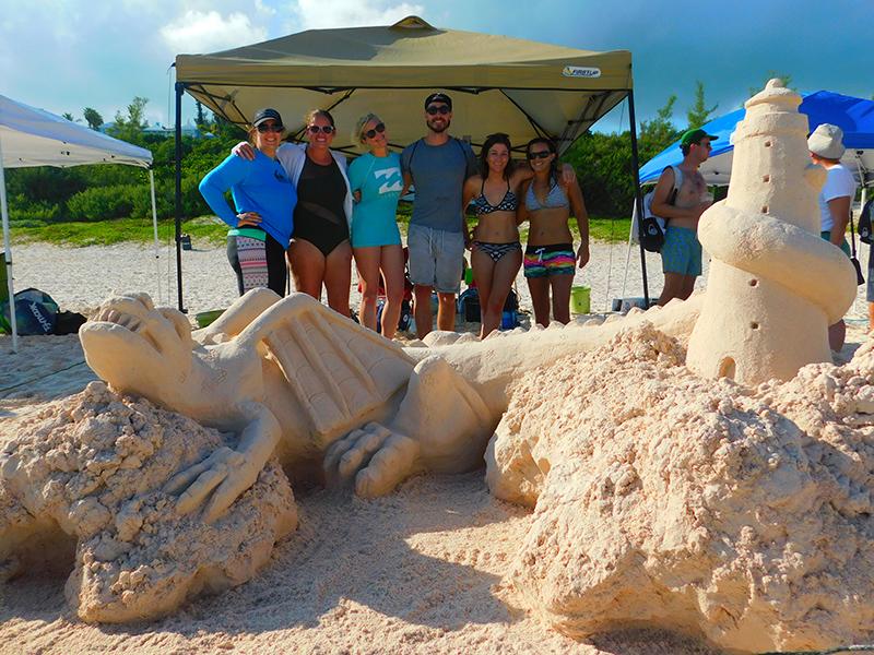 Bermuda Sandcastle Competition Aug 2019 (4)