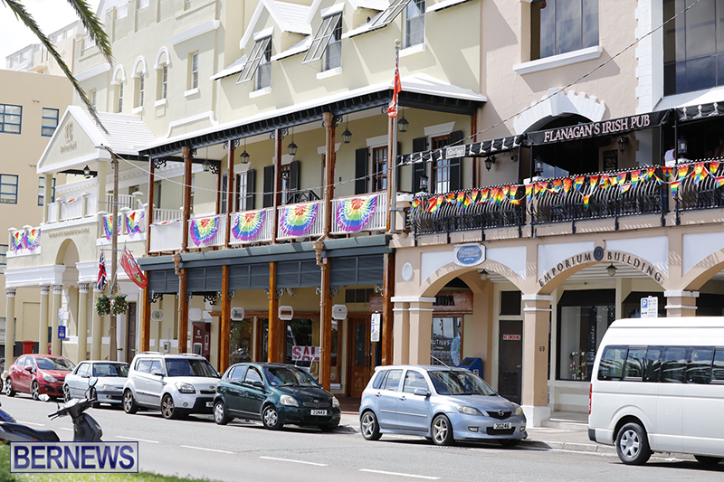 Bermuda businesses flying rainbow flags for Pride Month 2019 (1)