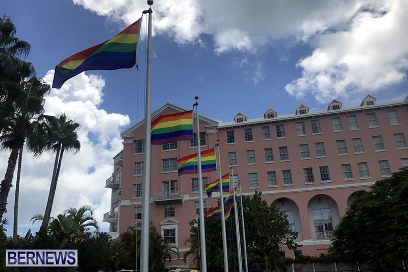 Bermuda businesses flying rainbow flags for Pride Month 2019 (13)