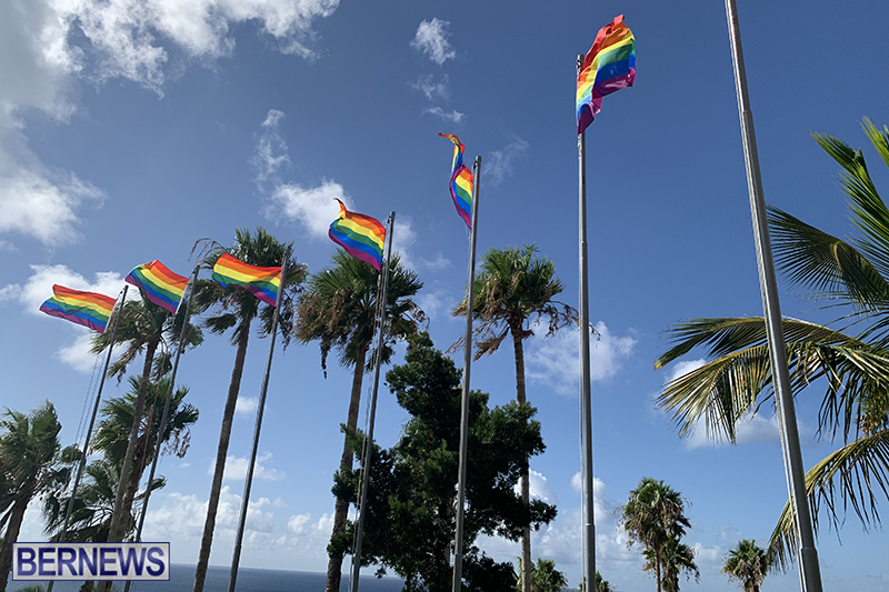Bermuda businesses flying rainbow flags for Pride Month 2019 (18)