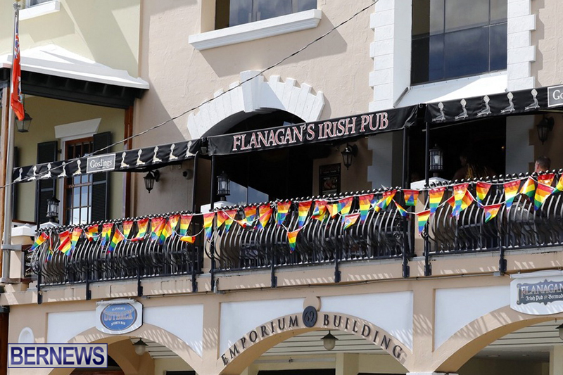 Bermuda businesses flying rainbow flags for Pride Month 2019 (3)