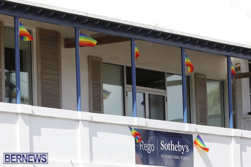 Bermuda businesses flying rainbow flags for Pride Month 2019 (4)