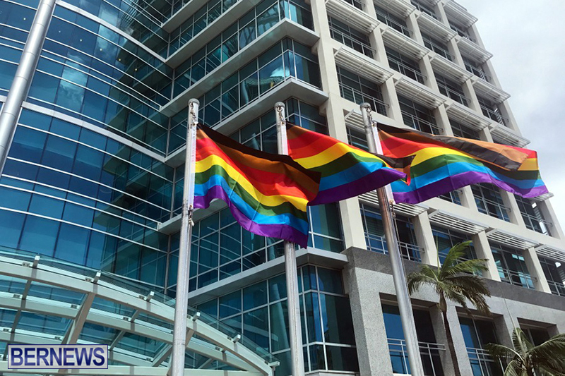 Bermuda businesses flying rainbow flags for Pride Month 2019 (7)