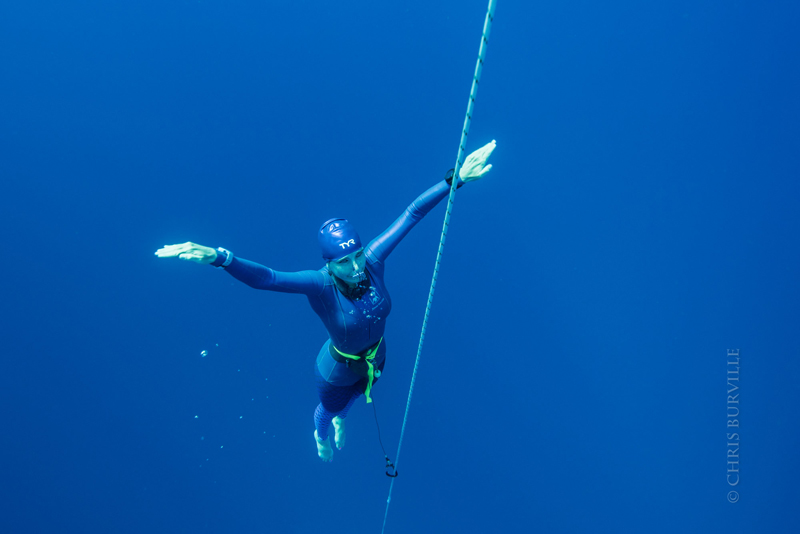 Beth Neale Breaks Diving Record Off Bermuda - Bernews