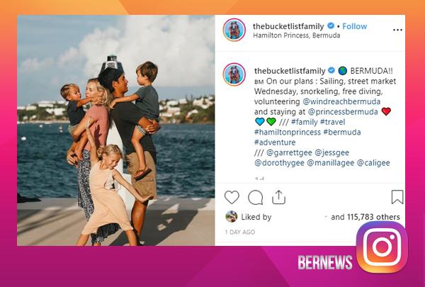 Bucket List Family Bermuda August 2019
