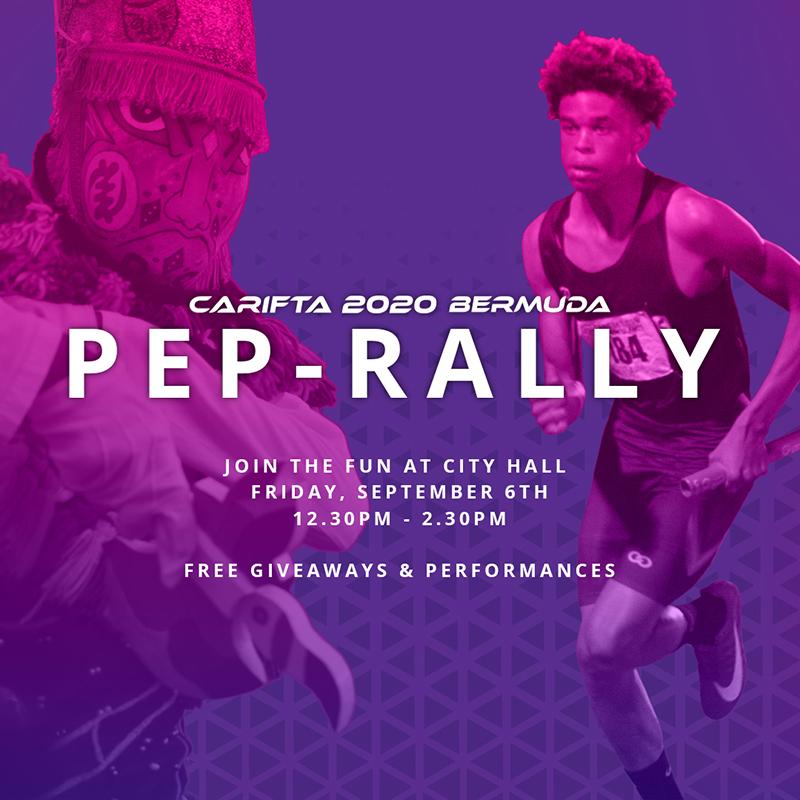 Carifta Games 2020.Carifta 2020 Pep Rally On September 6th Bernews