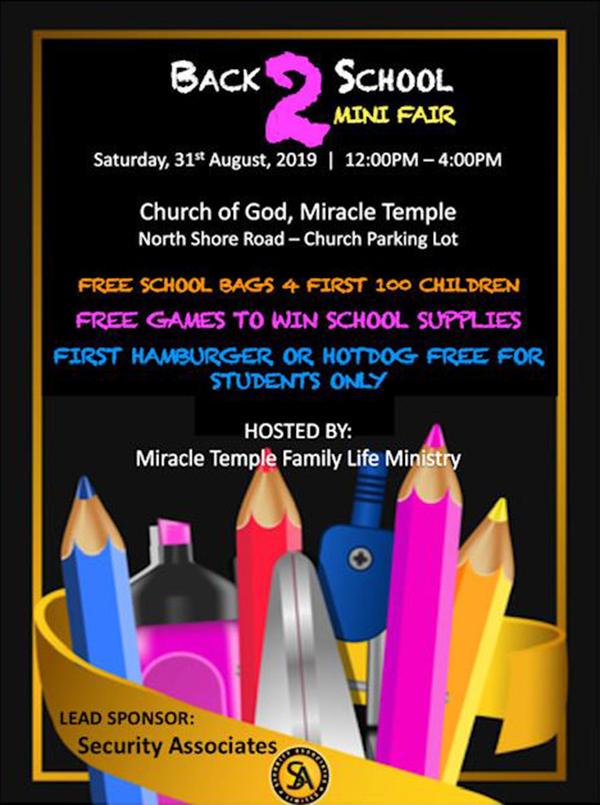 Church Of God Back To School Mini-Fair - Bernews