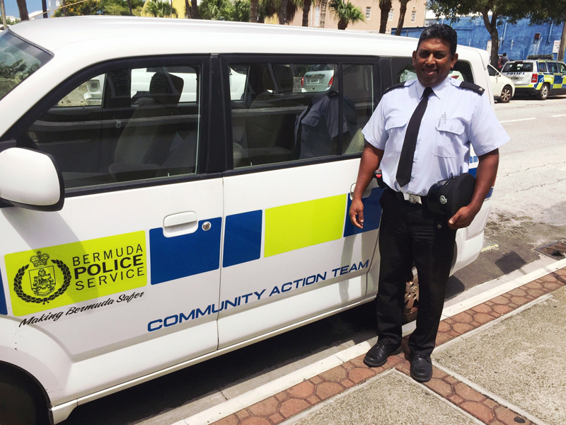 Constable Krishna Singh Bermuda August 2019