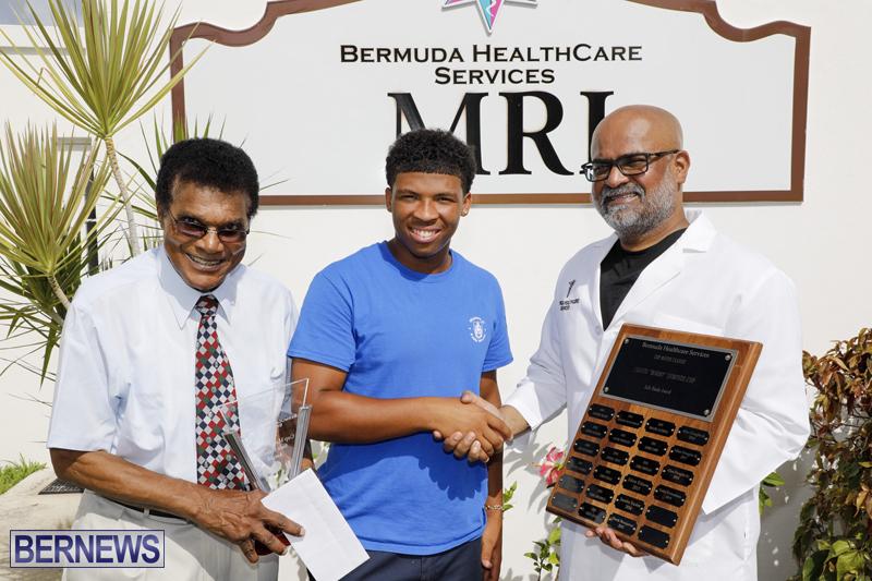 Cup Match Safe Hands Award Bermuda Aug 6 2019