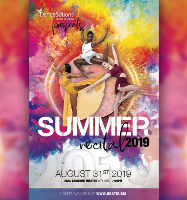DanceSations School Summer Dance Recital Bermuda Aug 2019