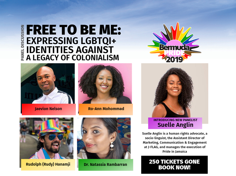 Free to be me Expressing LGBTQI+ identities against a legacy of colonialism Bermuda Aug 2019