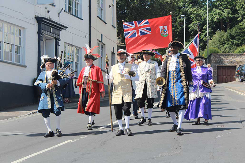 Historic Friendships Celebrated On Somers Day Bermuda Aug 2019