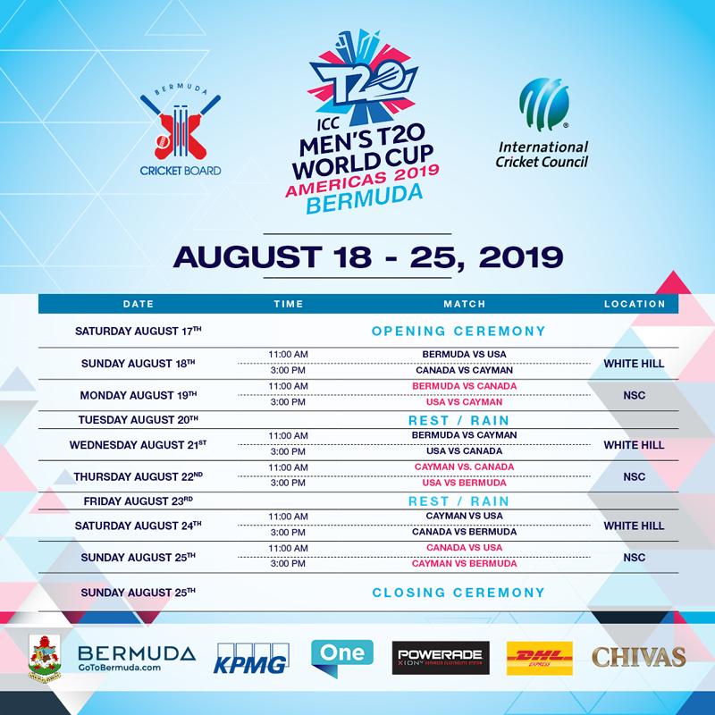 ICC Americas Men's T20 World Cup Bermuda August 2019 (2)