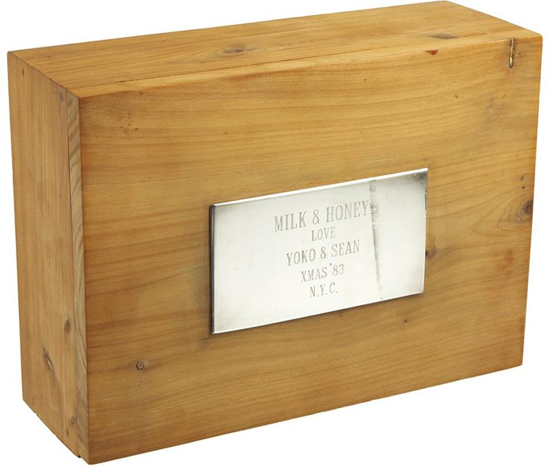 John Lennon Cedar Box Bermuda Aug 2019