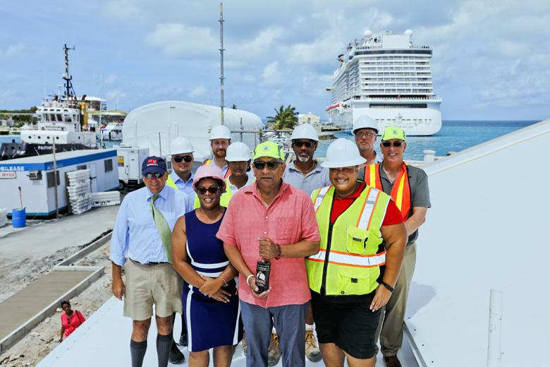 Kings Wharf Terminal Roof Wetting Bermuda Aug 2019 (1)