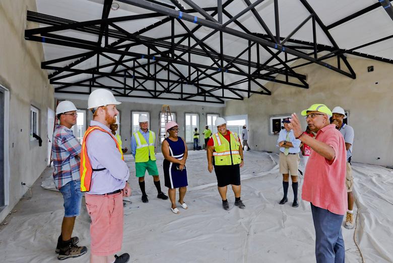 Kings Wharf Terminal Roof Wetting Bermuda Aug 2019 (3)