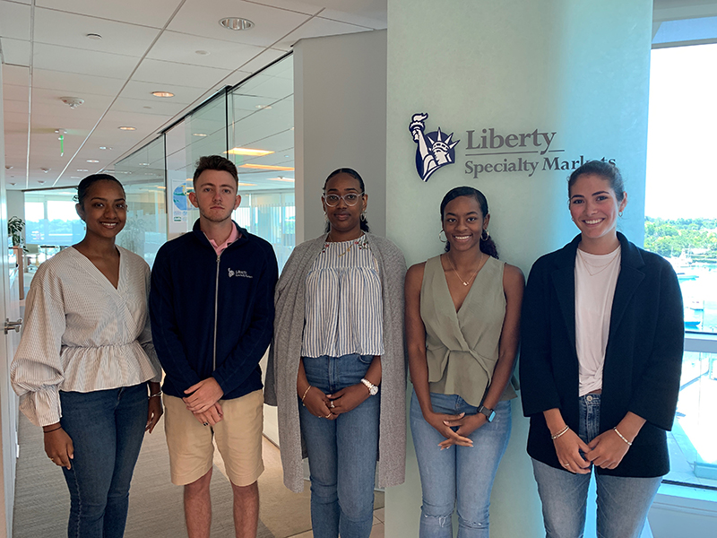Liberty Specialty Markets Summer Interns Bermuda Aug 2019